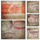 Passport stamps-VEP